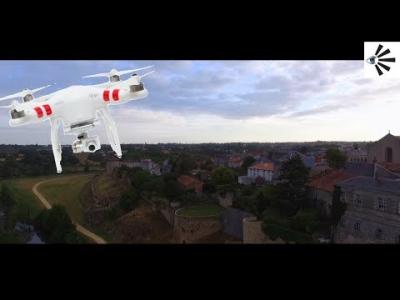 Ballade en drone sur Parthenay