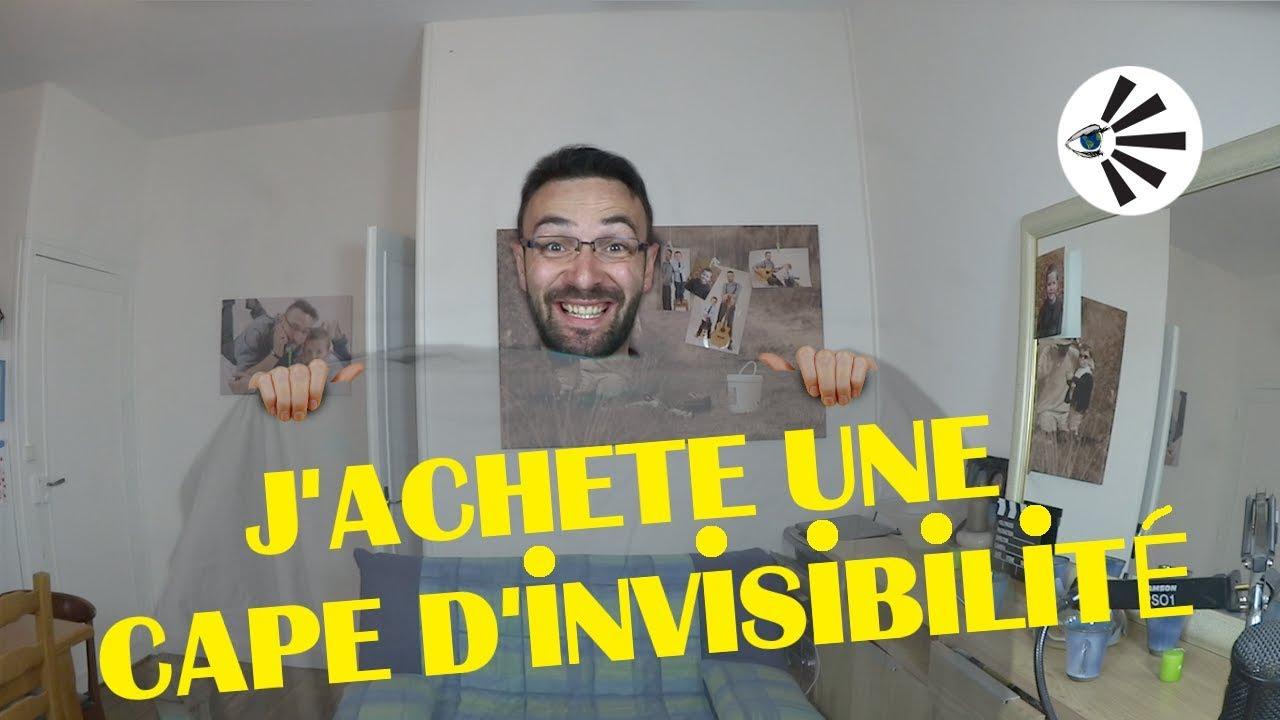 J'achète une cape d'invisibilité