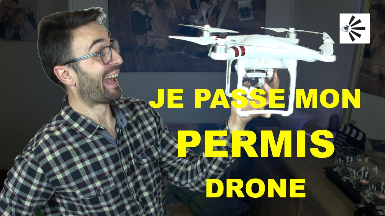 Je passe mon permis drone