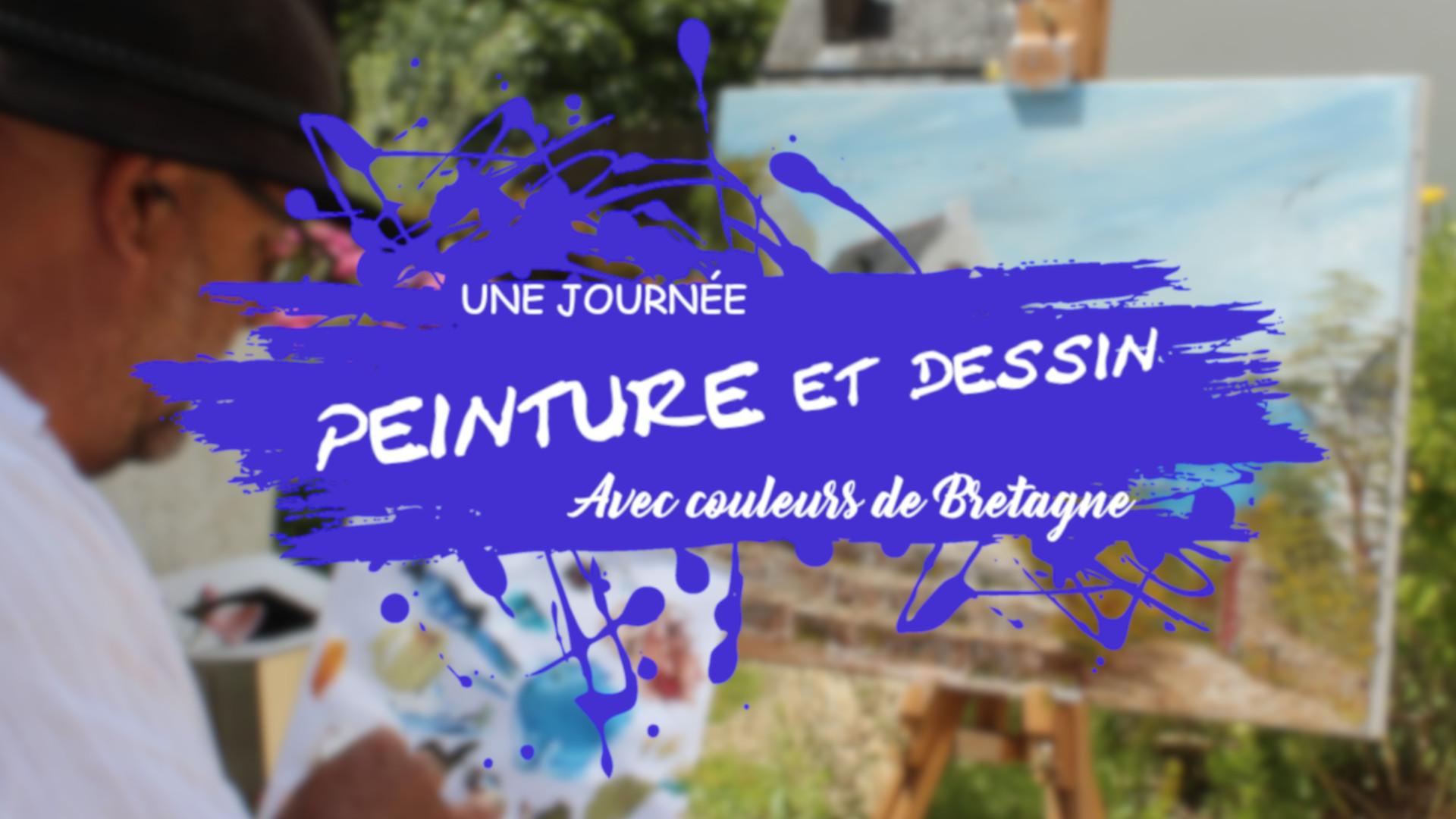 Une journée Peinture et dessin avec couleurs de Bretagne