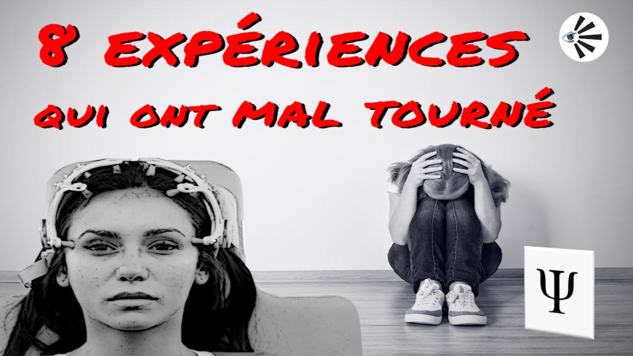8 expériences psychologiques qui ont mal tourné